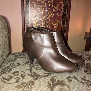 Brown Ankle Boots Size 9.5